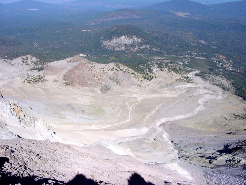 an overview of the volcano in california lassen peak